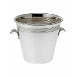 Art Deco Style Silver Plate Ice Pail