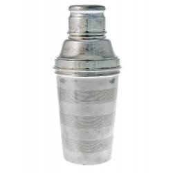 Large Three Part Silver Plate Cocktail Shaker