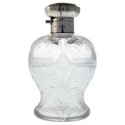 Mappin & Webb Cut Glass & Silver Top Perfume Bottle. 1928