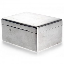 Plain Antique Silver Mappin & Webb Box