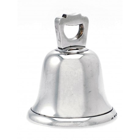 A Cast Silver Plain Table Bell c.1921