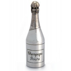 Silver Plate Pepper Mill Engraved Champagne Poivre