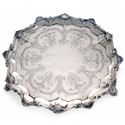 Thomas Smily Antique Silver Salver