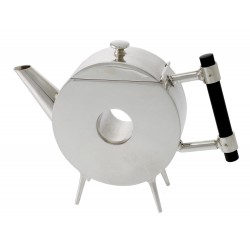 A Circular Christopher Dresser Style Tea Pot