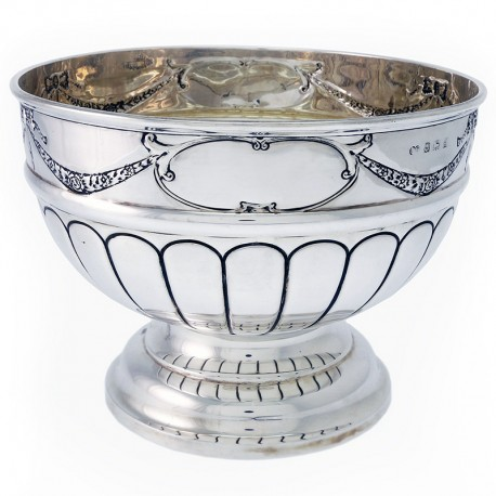 Antique Edwardian Silver Bowl (c.1906)