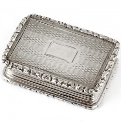 Antique Silver Gilt Vinaigrette by Thomas Willmore (1833)