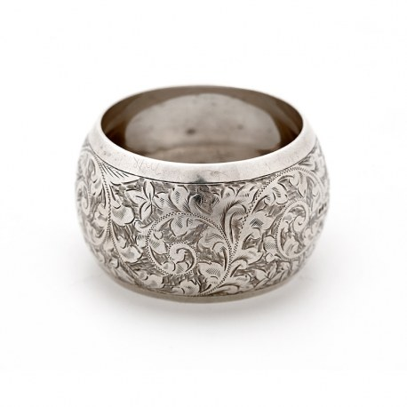Over Sized Chester Silver Napkin Ring (1902)