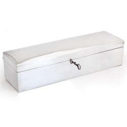 Superb Birks Sterling Silver Cigar, Cigarette or Trinket Box