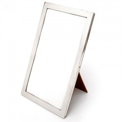 Large Good Quality Chester Silver Photo Frame with Plain Silver Mount