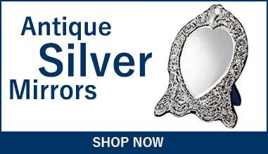 Antique Silver Mirrors and Hand Mirrors