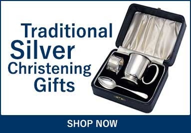 Traditional Antique Silver Christening Gifts
